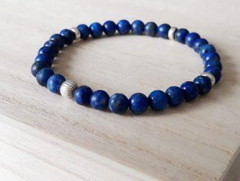 Armband lapis lazuli - 6 mm