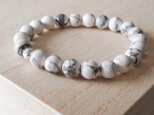 Howliet armband met sterling zilver