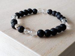 Armband bergkristal - voor jongens