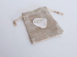 Trommelsteen bergkristal
