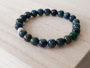 Armband chrysocolla – 8 mm
