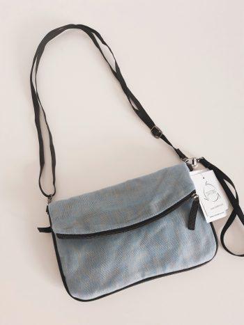Handtas crossbody klein - lichtblauw