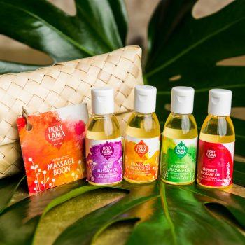 Geschenkset massage olie
