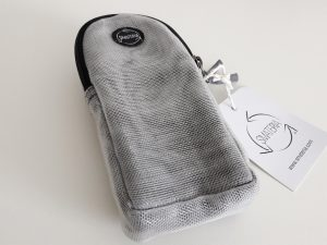 Briletui glasses case Smateria grey