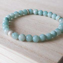 Amazoniet armband I Tiquarzo amazonite ocean blue