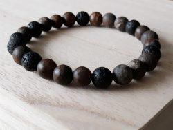 Armband voor mannen – bronziet