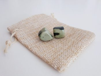 jade trommelstenen - set - mini