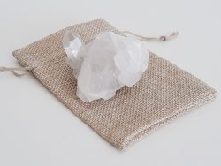 bergkristal ruw - 120 gram
