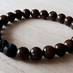 Jaspis armband voor mannen