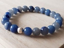 Armband Aventurijn blauw
