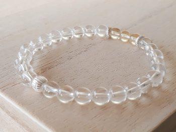 Armband citrien - bergkristal