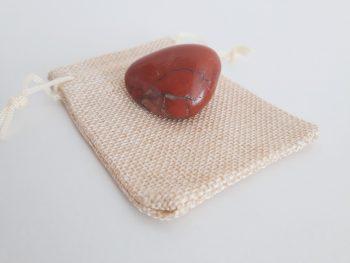 trommelsteen jaspis - rood