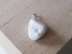 Hanger howliet - zilver - 3 cm